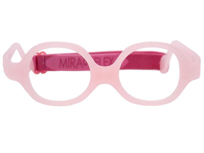 e4e54f4089556 Óculos Infantil Miraflex Silicone - Mini Baby - Rosa - R  360