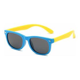Óculos Infantil Polarizado De Sol Uv400 Flexível Criança