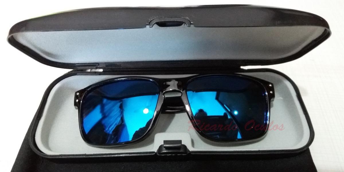 oculos infantil quadrado preto lente azul espelhada uv a400. Carregando  zoom. 239496eaec