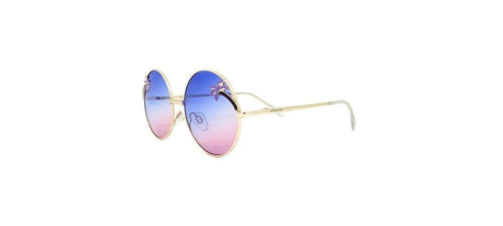 939f23677 Óculos Infantil Redondo Degradê Roxo E Rosa - R$ 79,90 em Mercado Livre
