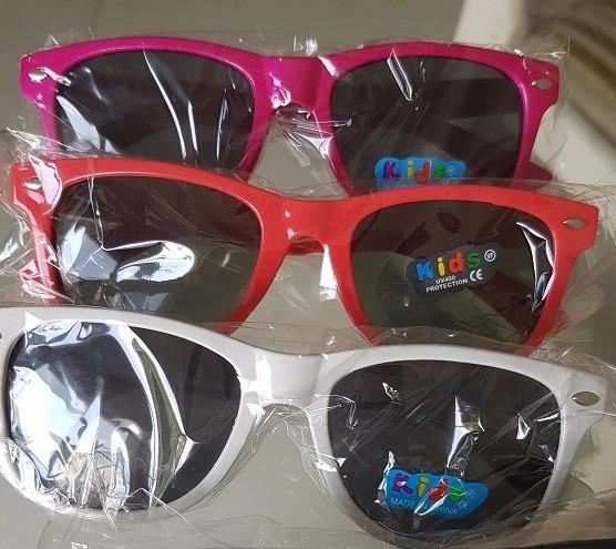 a52f83bdf Óculos Infantil Sol Colorido Espelhado - Kit 3 Unid Atacado - R$ 39 ...