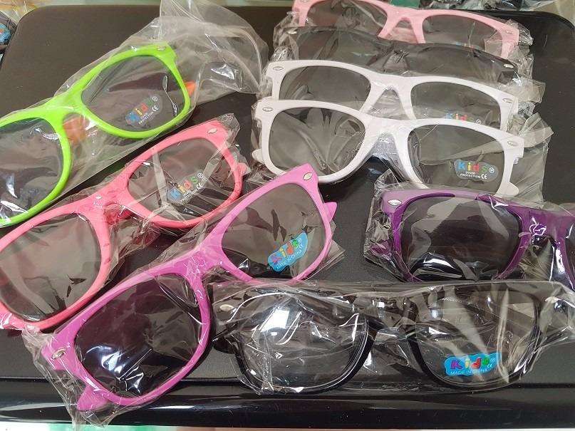 6e097b4b7edaf óculos infantil sol colorido espelhado - kit 5 unid atacado. Carregando  zoom.