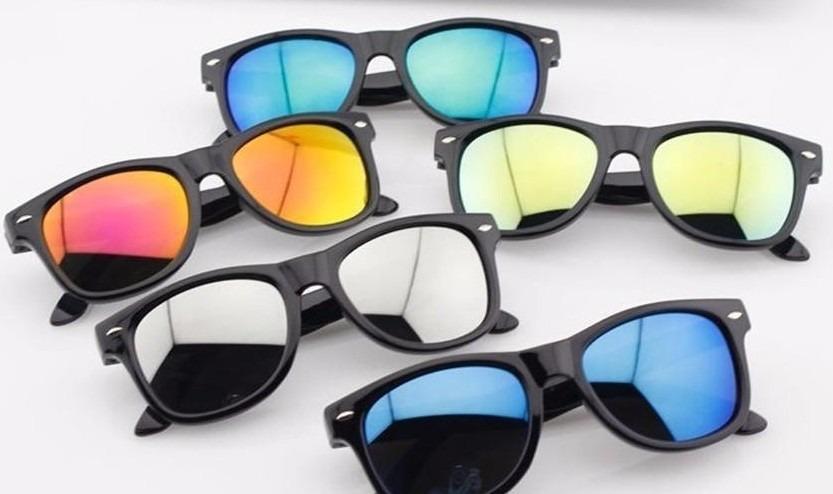 5314a3456b08c óculos infantil sol colorido espelhado - kit 5 unid atacado. Carregando zoom .