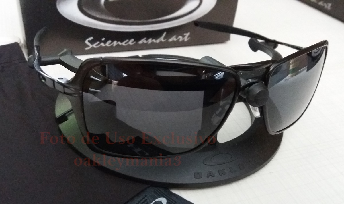 128047733 Oculos Inmate Xmetal Black Fosco Lente Black G20 Polarizada - R$ 160 ...