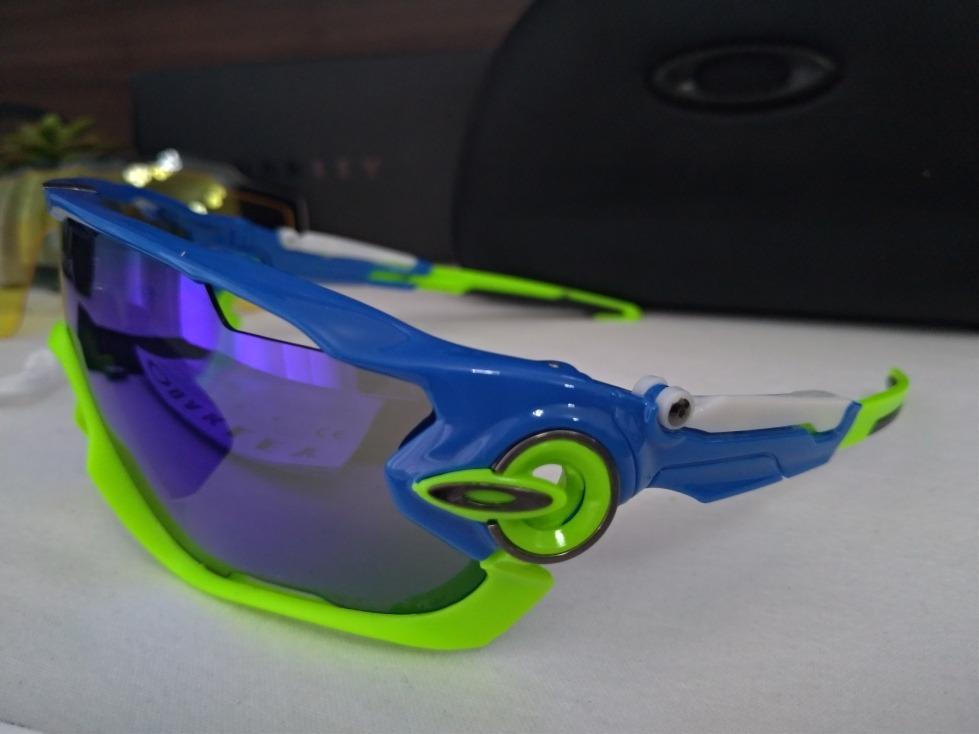 640c0d106e0a5 Óculos Esportivo Jawbreaker, 4 Lentes E Acessórios - R  189,00 em ...