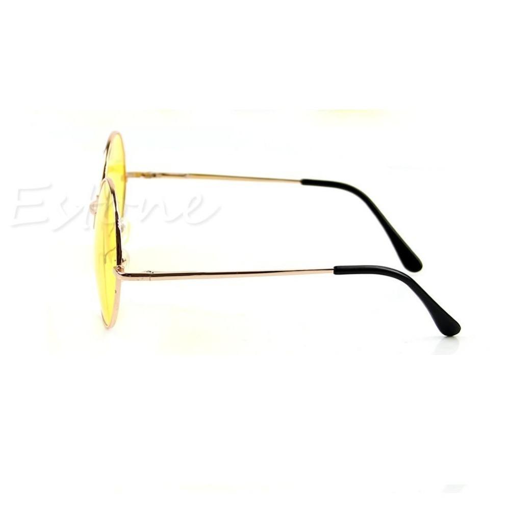 c869ade2e1faa óculos john lennon lente amarela para dirigir à noite. Carregando zoom.