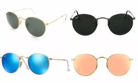 3567e3a4e Oculos Ray Ban Redondo Espelhado Verde - Óculos De Sol no Mercado ...