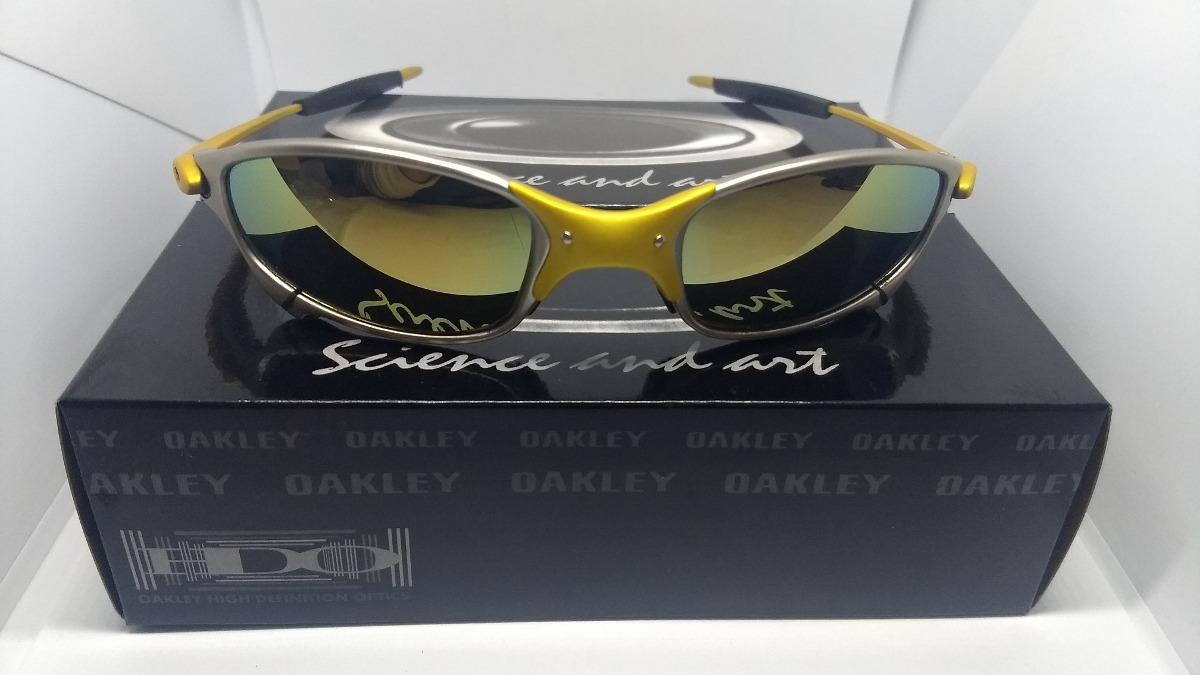 Oculos Juliet 24k X-metal Dourada 100% Polarizadas - R  79,00 em ... 148b26ea50