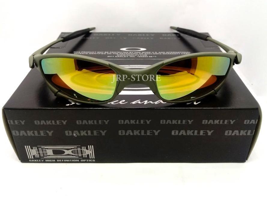 ce5571d6a1060 oculos juliet lente dourada gold doublex xmetal 24k penny. Carregando zoom.