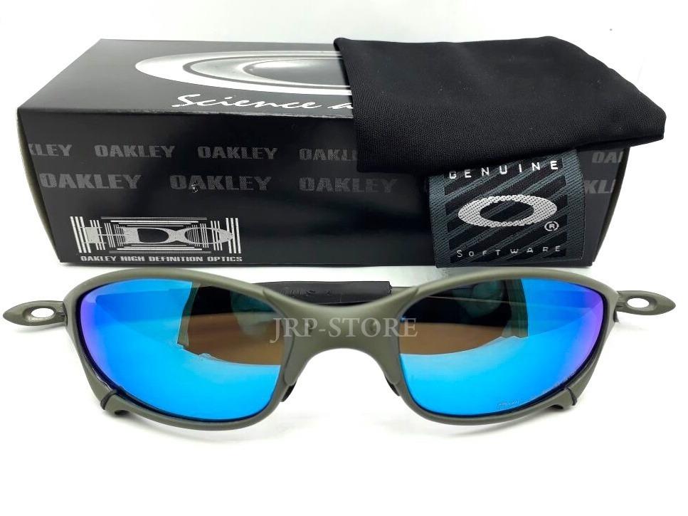 oculos juliet lente ice thug doublex xmetal 24k penny azul. Carregando zoom. 85944a6b65