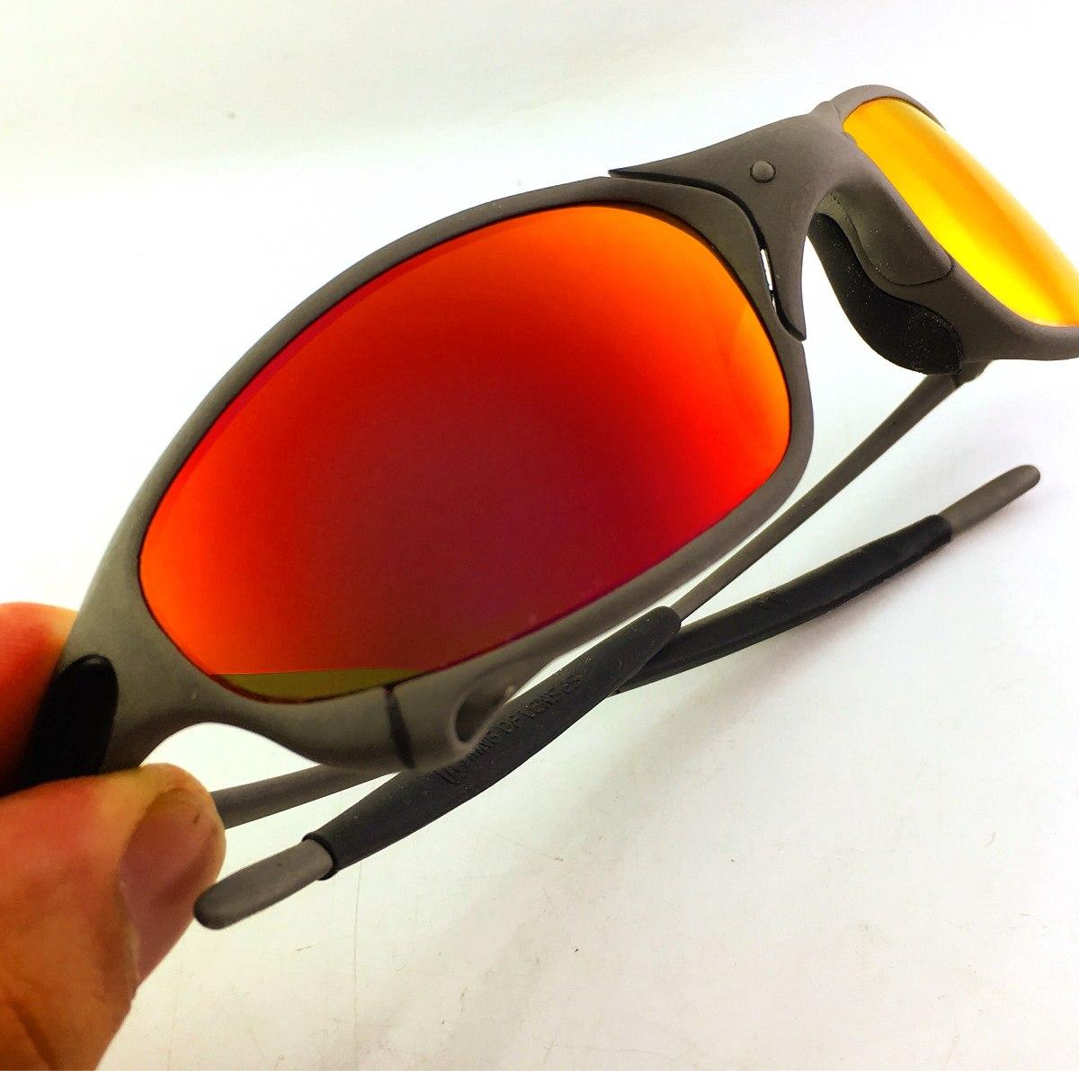 6e23de5ed oculos juliet oakley x metal dark rubi numerado original. Carregando zoom.