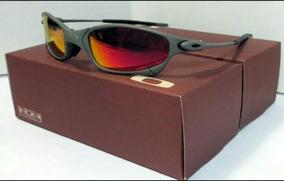 80ba21532 Oculos Double 24k - Óculos De Sol Oakley Juliet no Mercado Livre Brasil