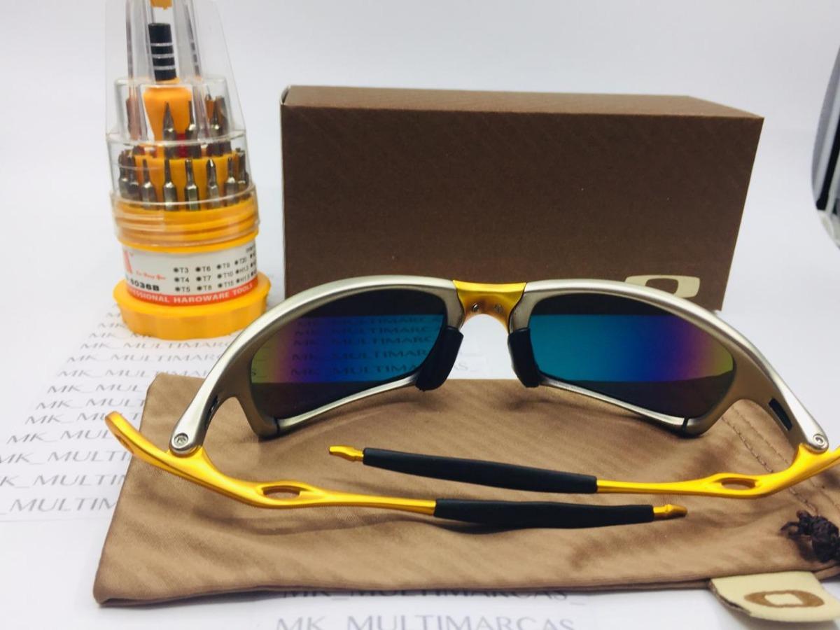 b124547e1 Óculos Juliet Penny Vermelho 24k Double X Polarizad Original - R$ 96 ...