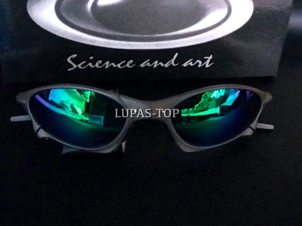 3bb69854a1076 Oculos Juliet Penny X Metal Lente Verde G26 + Lente Extra - R  159 ...