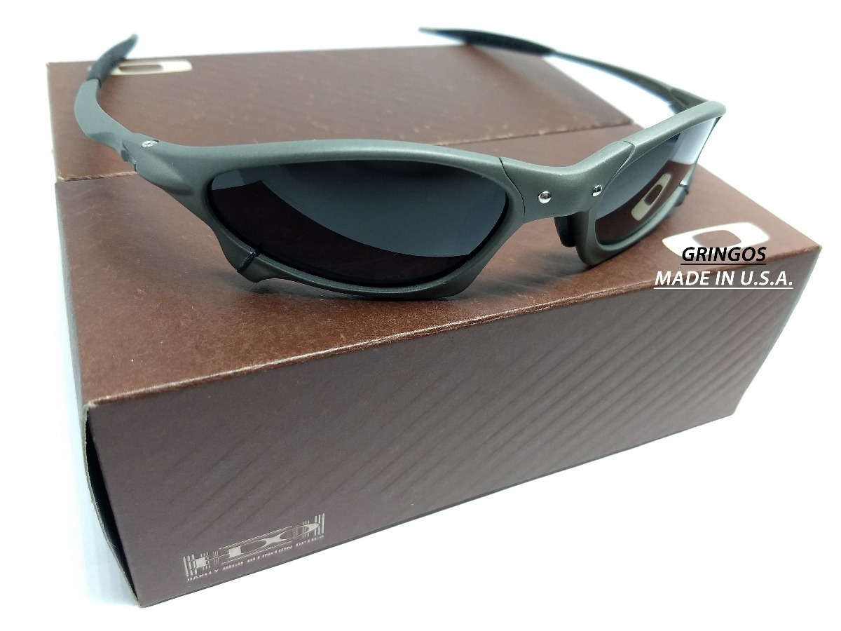 18dde89aac70b Oculos Juliet Penny Xmetal Black Iridium Prata Espelhado - R  139