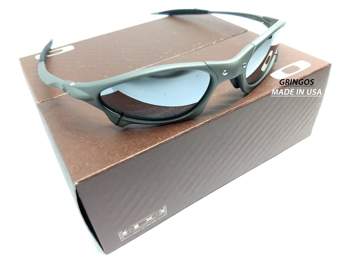 1ebca1f8c8b Oculos Juliet Penny Xmetal Black Iridium Prata Espelhado - R  139