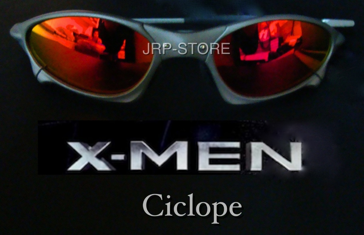 77e07205e3e4b Oculos Juliet Penny Xmetal Fire Red X-men Cyclope Polarizado - R ...