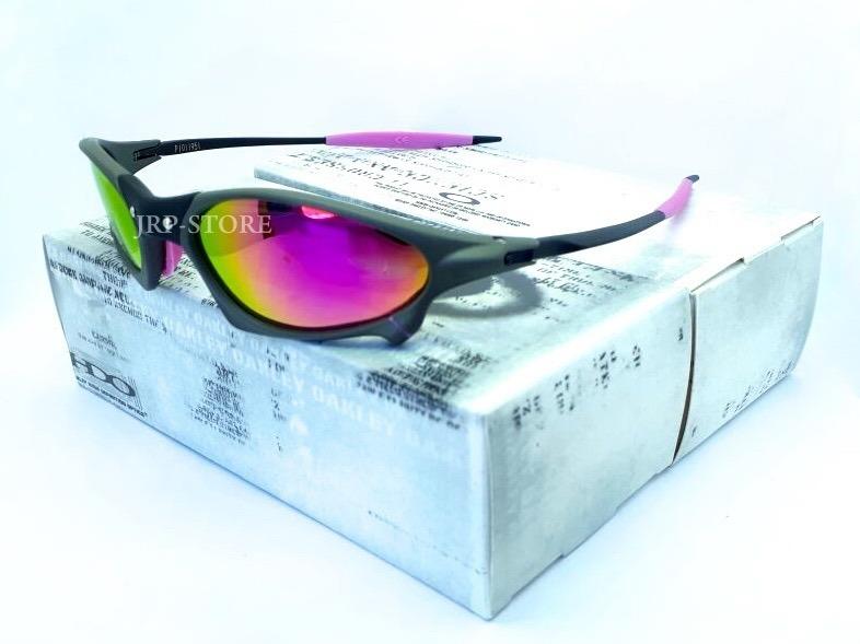 4b9a339064f15 Óculos Juliet Penny Xmetal Lente Rosa Pink C  Borracha Rosa - R  149 ...