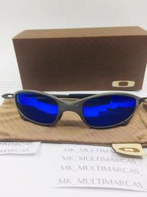 edd1d4556 Juliet Azul Roxo - Óculos De Sol no Mercado Livre Brasil