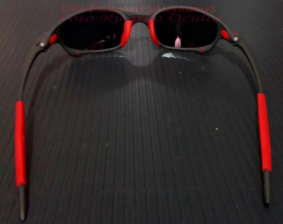 1003198dbb7f1 oculos juliet xmetal lent e borracha vermelha red fire u.s.a. Carregando  zoom.
