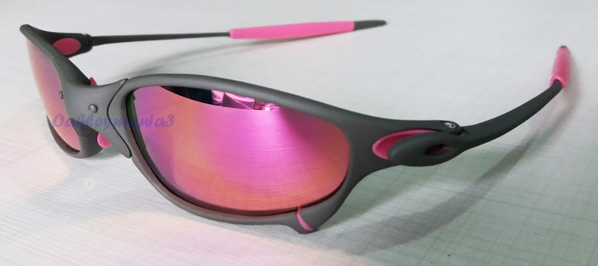 b82c3f2d1 oculos juliet xmetal lente e borracha rosa pink polarizada. Carregando zoom.