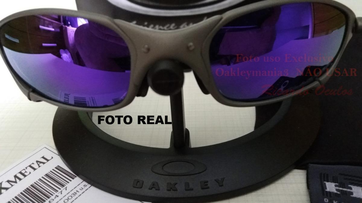 80d9594031a26 oculos juliet xmetal lente roxa violetas polarizada u.s. Carregando zoom.
