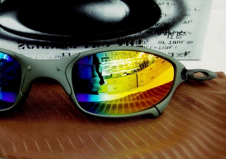 Óculos Juliet Xmetal - Lentes Arco Iris 100% Polarizadas - R  149 0e35b20777b