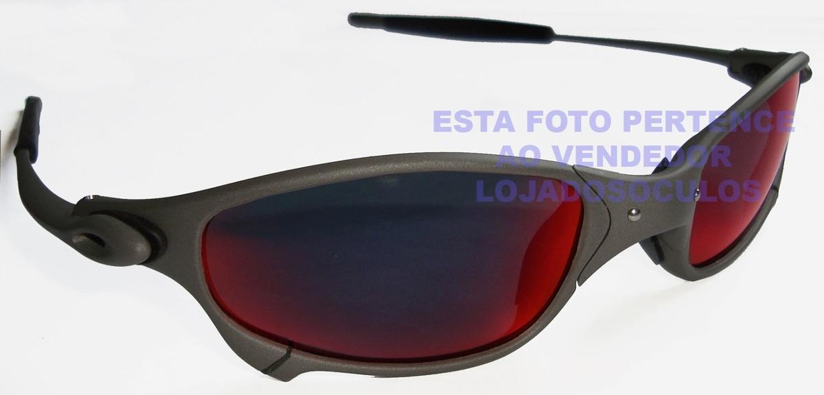 oculos juliete xmetal lente dark ruby polarizada uv uva400. Carregando zoom. a09c9e1b52