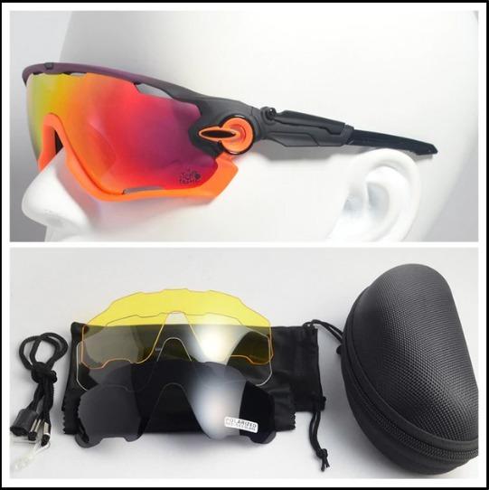 Óculos Kapvoe Preto Ciclismo Mtb Polarizada transparente - R  150,00 ... c36ef1a7d6