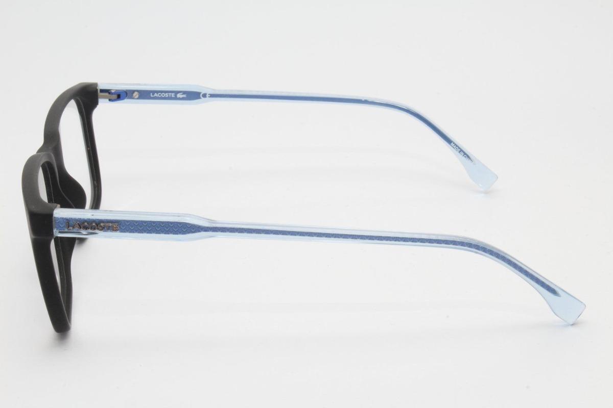 c6e6e3f6d30fa Armação De Óculos Lacoste L2810 002 - R  439,00 em Mercado Livre