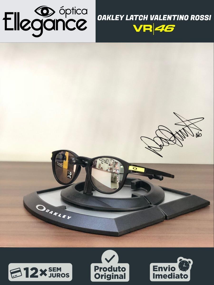 42d335712d55e óculos latch oakley oo9265 valentino rossi vr46 -preto fosco. Carregando  zoom.