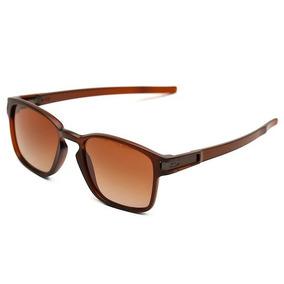 c2f67fe66a Óculos Latch Squared Marrom Masculino Polarizado Co00-00447