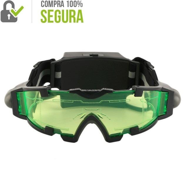 9d1973573 Oculos Led Noturna Flip-out Caça Pesca Airsoft Ciclismo - R$ 82,00 em  Mercado Livre