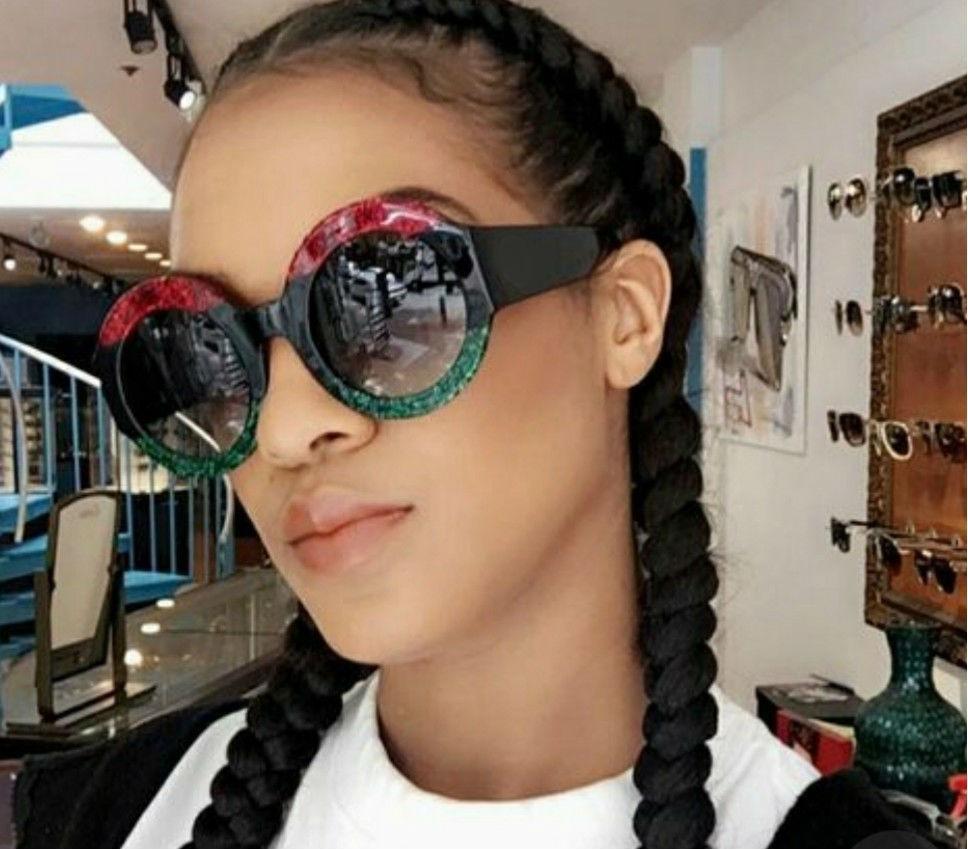 óculos lente degrade escuro das blogueiras grife famosa luxo. Carregando  zoom. 56ebb2ab83