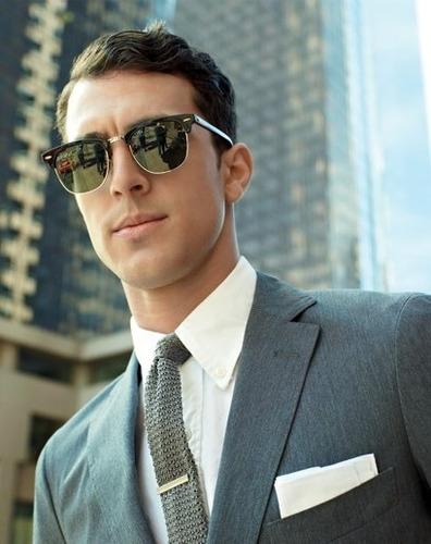 ed61c596c2a57 Óculos Lente Escura Ou Espelhada Estiloso Moderno Masculino - R  39 ...