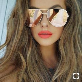 bc67c3615 Oculos Feminino Espelhado Rosa Pink Grau no Mercado Livre Brasil