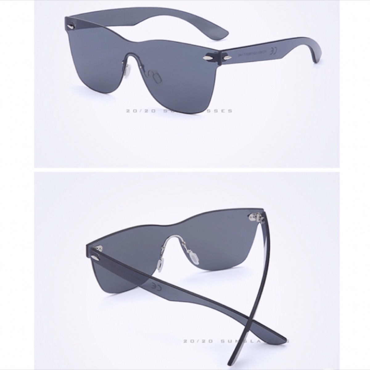 a6edd27de Óculos Lente Plana Espelhado Polarizada Black Sem Aro - R  199