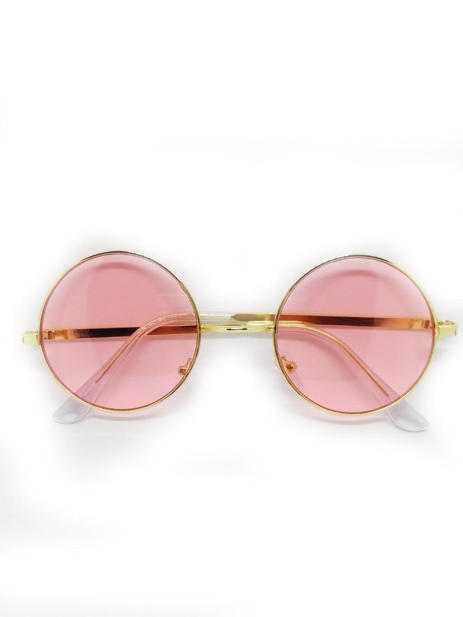 33497ef0d Óculos Lente Rosa Redondo - R$ 29,99 em Mercado Livre