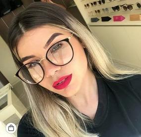 5b0fd8f72 Oculos De Mentira Sem Grau - Óculos no Mercado Livre Brasil