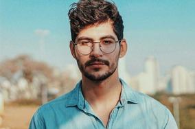 b19b5592c Oculo Redondo Transparente Masculino - Óculos no Mercado Livre Brasil