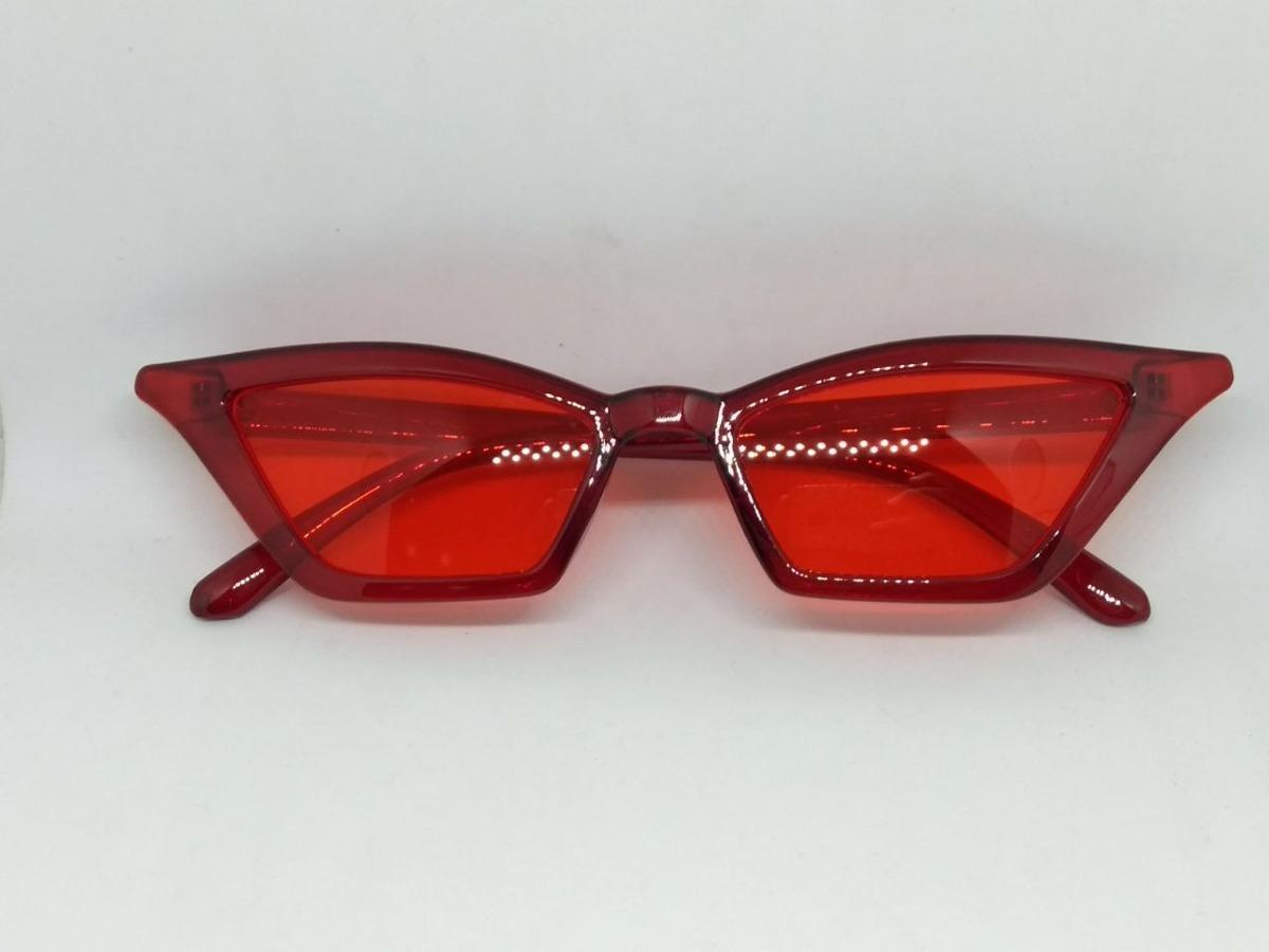 874638c676dfc óculos lente vermelha sexy fino filete tendencia colorido. Carregando zoom.