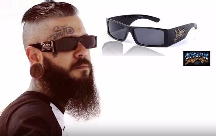 31bffa16200b6 Óculos Locs Modelo Gangsta Rap Lowrider Pronta Entrega - R  79,90 em ...
