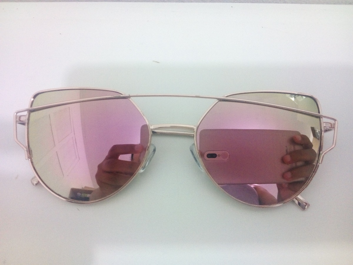fe001320a65e5 óculos love punch gatinha reflexivo (com defeito). Carregando zoom.