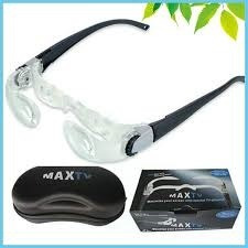 oculos lupa auxiliar max tv para miopia com ajustes ideal tv