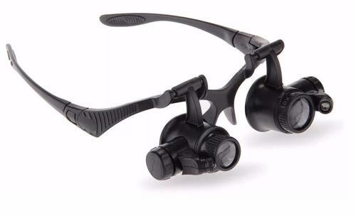 Óculos Lupa C  Luz Própia P  Eletrônica Zoom 10x 15x 20x 25x - R  60 ... 6c174c6b66