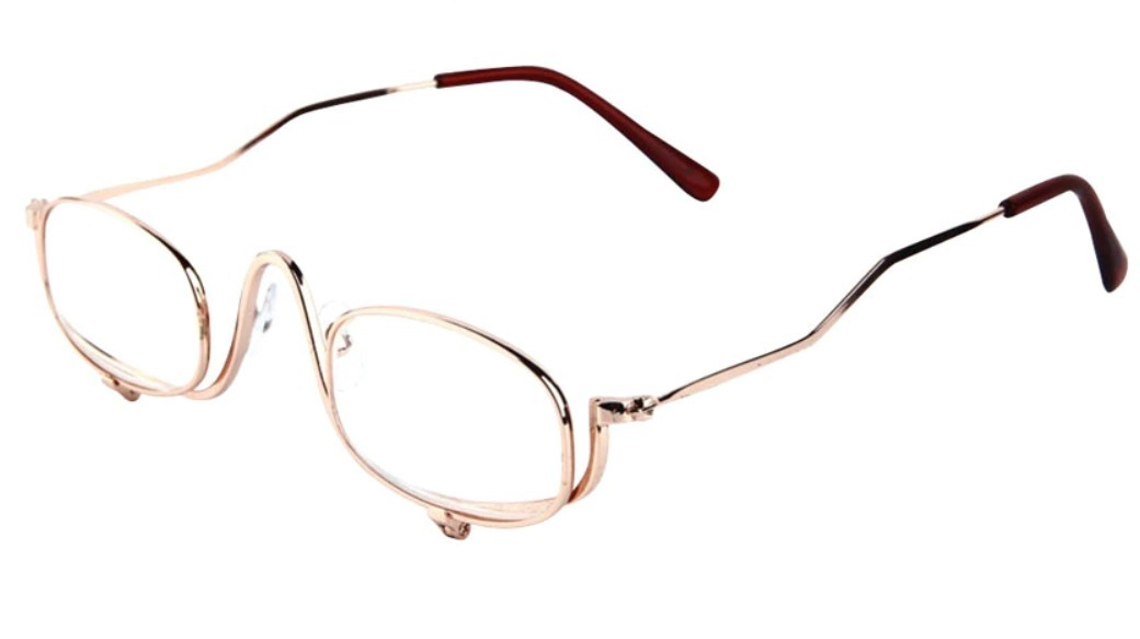 óculos lupa de grau para auto maquiagem e leitura 2 lentes. Carregando zoom. 4be260799c