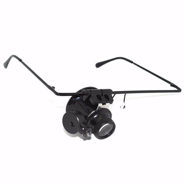 5be10b147921f Óculos Lupa De Precisão Com Led Articulável Lente Lee Tools - R  29 ...