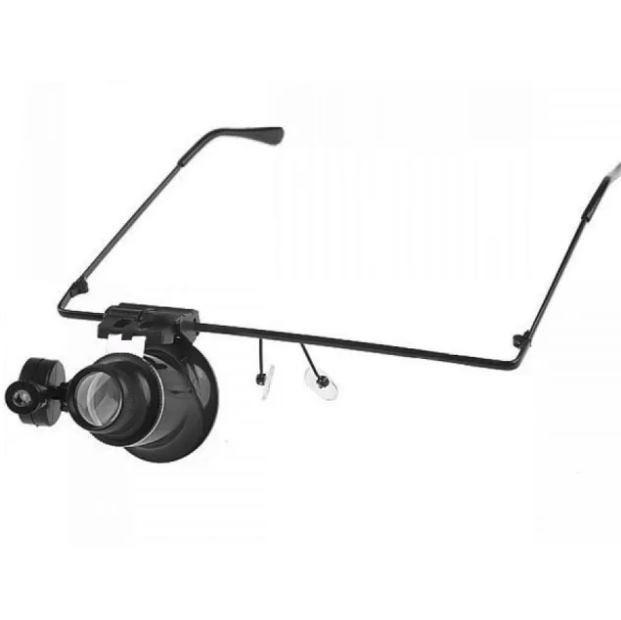 f7d87b3e489cb Óculos Lupa De Precisão Com Led Articulável Lente Lee Tools - R  25,00 em  Mercado Livre