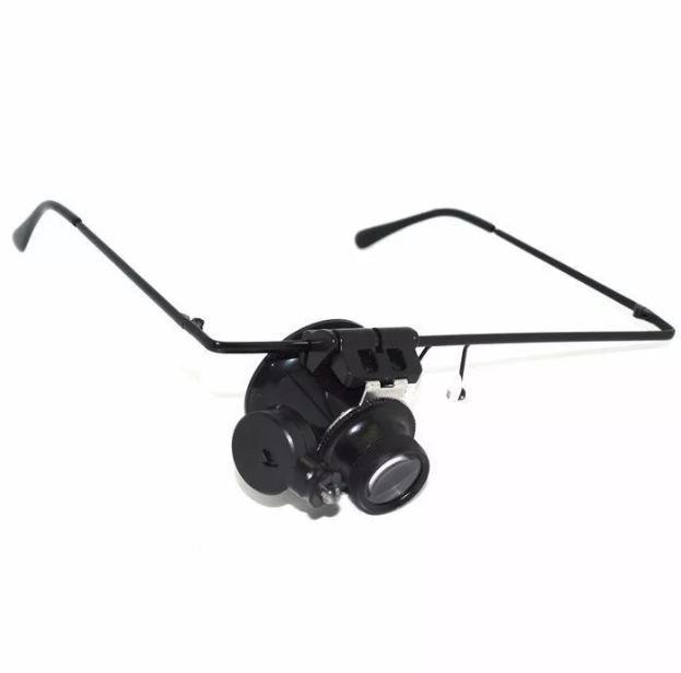 d3e18d857a706 Óculos Lupa De Precisão Com Led Articulável Lente Lee Tools - R  25 ...