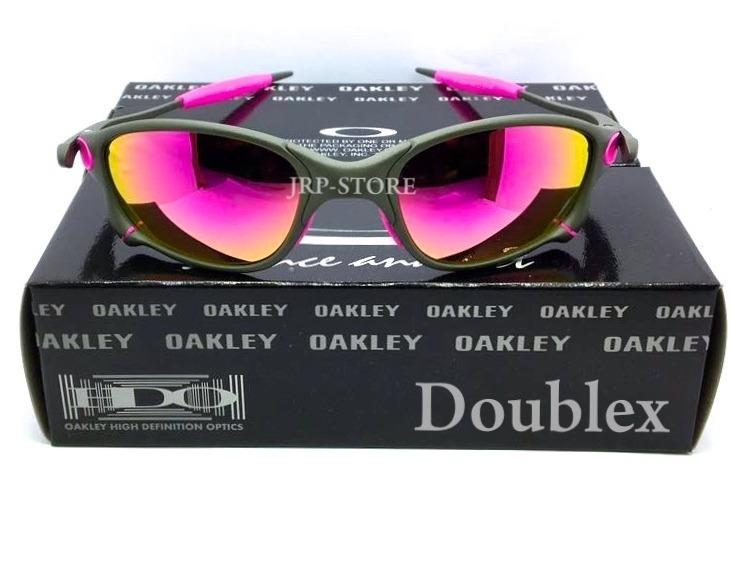 a276ee4cde8e4 Oculos Lupa Double X X X Metal Lentes E Borrachas Rosa Pink - R  159 ...